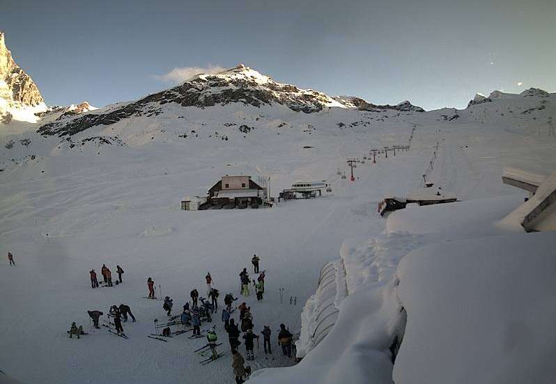 6th Dec 2014 - Cervinia Plan Maison ski runs