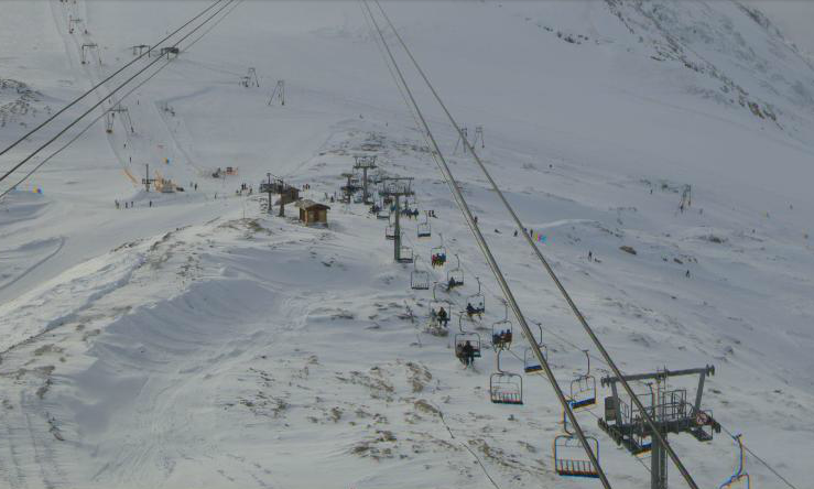 6th Dec 2014 - Tignes Grand Motte ski area