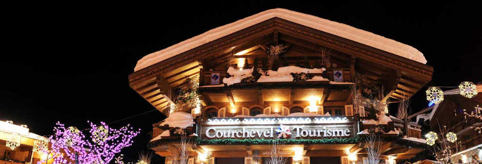 Luxury chalets in Courchevel