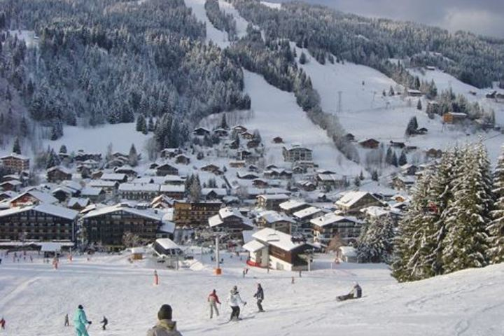 Ski Chalet in Les Gets 5 bedrooms Skiin Skiout Log fire Wi