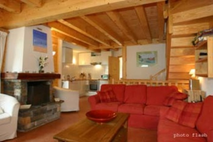 ski chalet in les gets 5 bedrooms log wi fi childcare available airport transfers