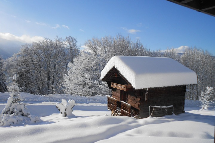 ski chalet in samoens 5 bedrooms swimming pool tub log wi fi 2109