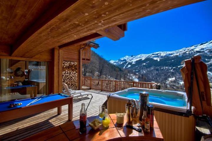Ski Chalet In Meribel 6 Bedrooms Ski In Ski Out