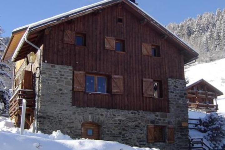 ski chalet in meribel 5 bedrooms log wi fi childcare available airport transfers