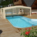 Les 2 alpes chalet with swimming pool