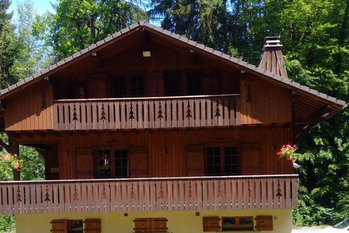 Chalet Milou in Summer