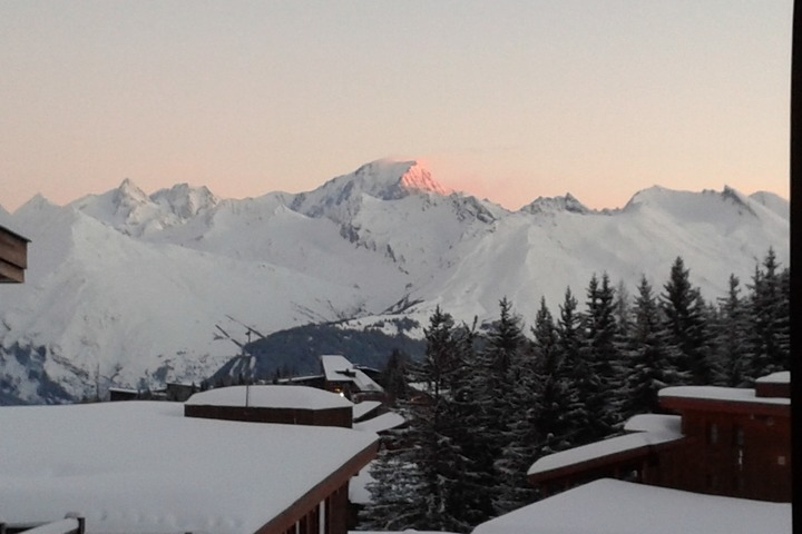Mont Blanc early morning