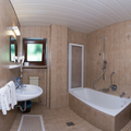 Catered chalet selva panorama   val gardena   bathroom