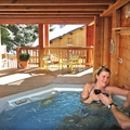 Catered chalet aigle des neiges in les gets   jacuzzi