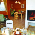 Catered chalet aigle des neiges in les gets with log fire