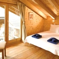 Catered chalet aigle des neiges in les gets   bedroom 2
