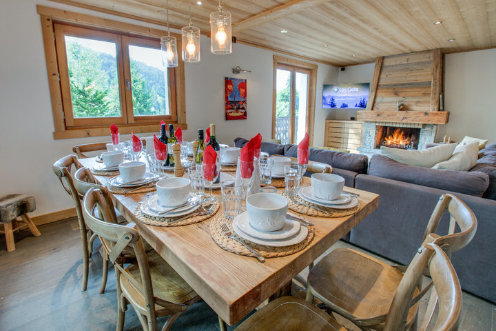 Chalet Fram, Accommodation, Sleeps 10, Les Gets
