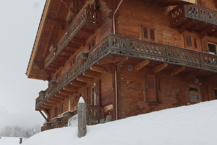 Chalet Bel-Air in Winter